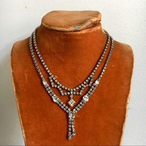 Vintage Rhinestone Necklaces